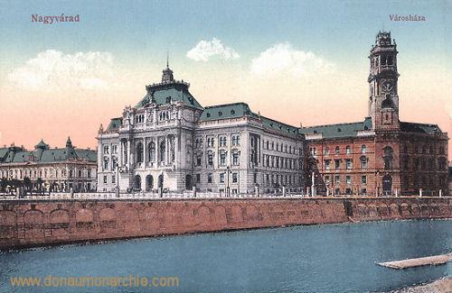 Großwardein (Nagyvárad), Varoshaza (Stadthaus und Rathaus)