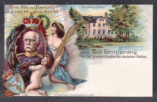 Otto von Bismarck, Friedrichsruh