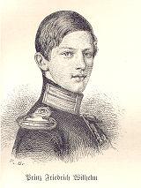Prinz Friedrich Wilhelm (der spätere Kaiser Friedrich III.)