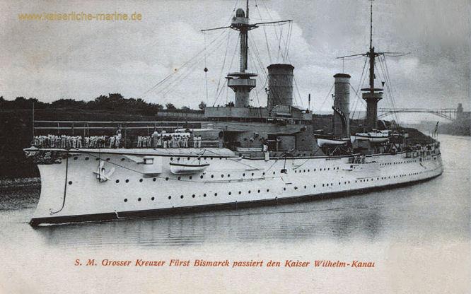 S.M.S. Fürst Bismarck, Großer Kreuzer