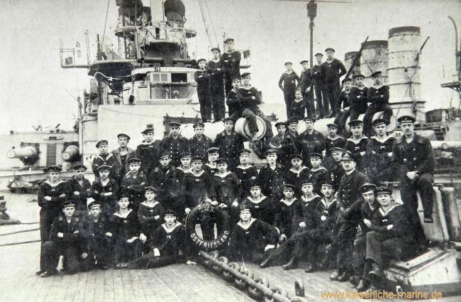 S.M.S. Ostfriesland, Matrosen 1916