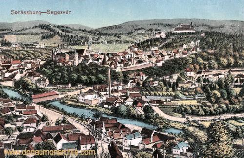 Schässburg (Segesvár - Sighișoara)