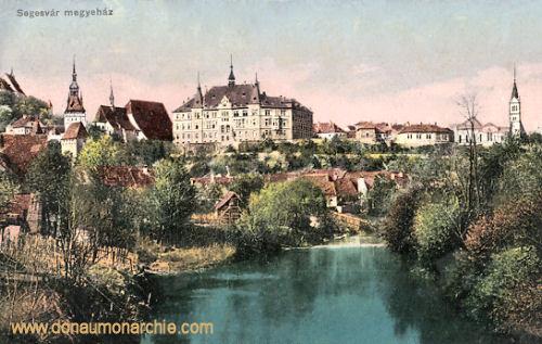 Schässburg (Segesvár - Sighișoara), Megyeház (Burg)