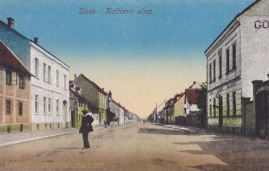 Sissek (Sisak), Kačićeva ulica