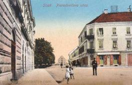 Sissek (Sisak), Preradovićeva ulica