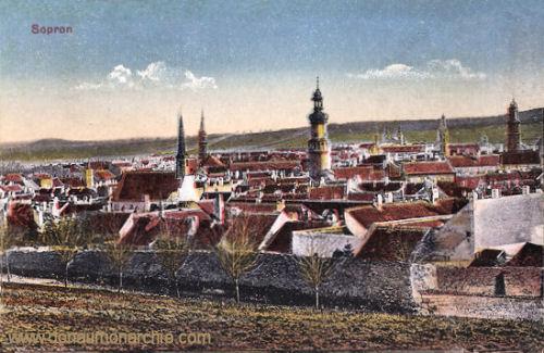 Ödenburg (Sopron), Stadtansicht