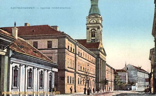 Szatmár-Németi, Irgalmas rendek-anyaház