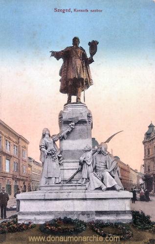 Szegedin (Szeged), Kossuth szobor