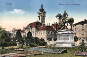 Szegedin (Szeged), Rákóczi szobor