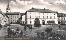Tanna, Markt und Rathaus