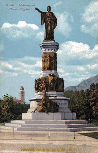 Trient, Denkmal Dantes