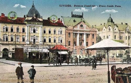 Neusatz (Ujvidék - Novi Sad), Franz-Josef-Platz