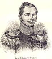 Prinz Wilhelm als Bräutigam, 1829