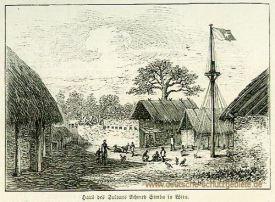 Witu-Land, Haus des Sultans Achmed Simba in Witu