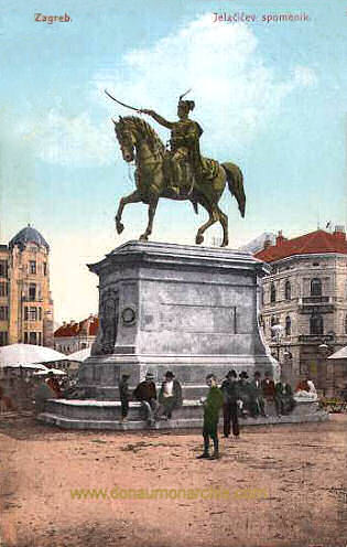 Agram (Zagreb), Jellachich-Denkmal