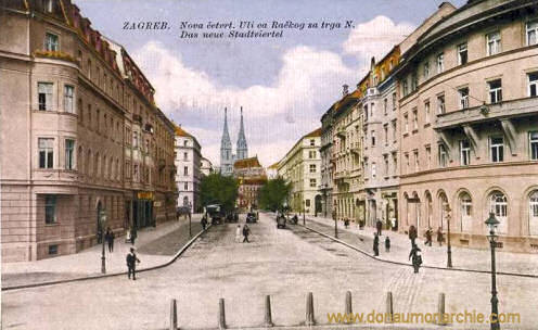 Agram (Zagreb), Das neue Stadtviertel