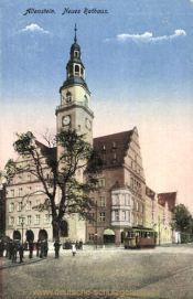 Allenstein O.-Pr., Neues Rathaus