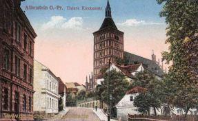 Allenstein O.-Pr., untere Kirchstraße