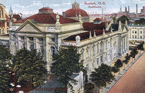 Beuthen O.-S., Stadttheater