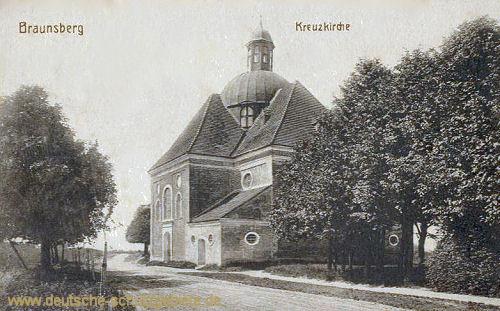 Braunsberg, Kreuzkirche