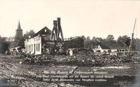 Das Dorf Abschwangen in Ostpreußen