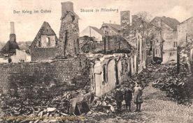 Der Krieg im Osten, Straße in Allenburg