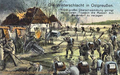 Die Winterschlacht in Ostpreußen - Neuendorf