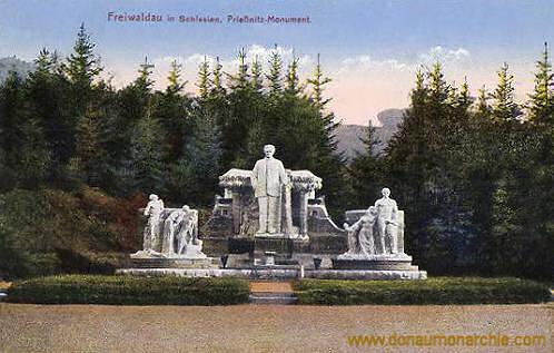 Freiwaldau, Prießnitz-Monument