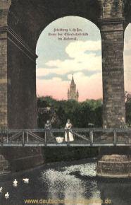Friedberg in Hessen, Unter der Eisenbahnbrücke im Rosental