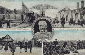 Friedrichshof, Nach der Zerstörung durch die Russen im August 1914