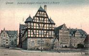 Giessen, Landgraf Philipp-Platz mit der Kaserne