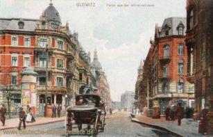 Gleiwitz, Partie aus der Wilhelmstraße