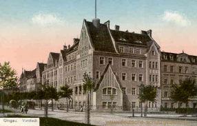 Glogau, Vorstadt