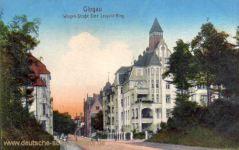 Glogau, Wingen-Straße Ecke Leopold-Ring