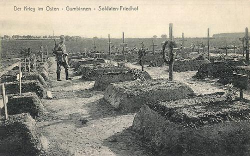 Gumbinnen - Der Krieg im Osten, Soldaten-Friedhof