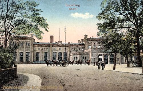 Insterburg, Bahnhof
