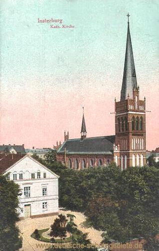 Insterburg, Katholische Kirche