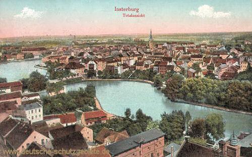 Insterburg, Totalansicht