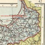 Karte Ostpreußen, 1914