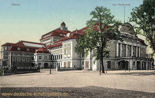 Kassel, Königliches Hoftheater