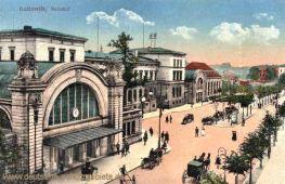 Kattowitz, Bahnhof