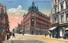 Kattowitz, Post- und Mühlstraße