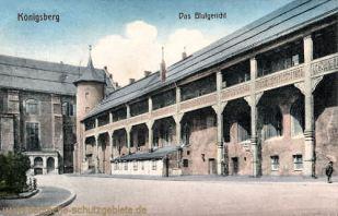 Königsberg i. Pr., Das Blutgericht