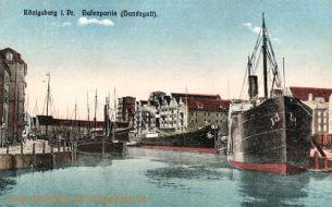 Königsberg i. Pr., Hafenpartie (Hundegatt)