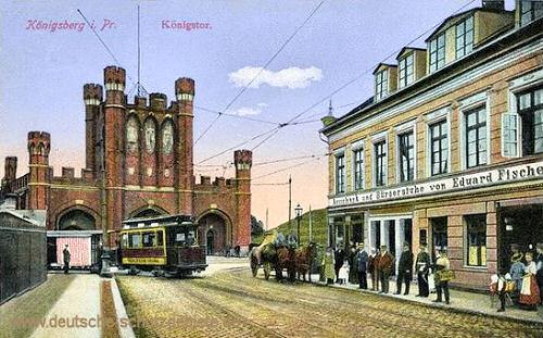 Königsberg i. Pr., Königstor