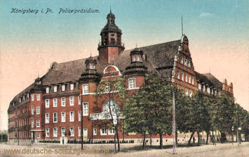 Königsberg i. Pr., Polizeipräsidium