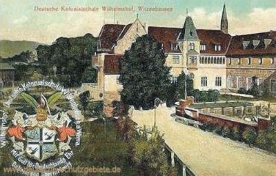 Deutsche Kolonialschule Wilhelmshof, Witzenhausen