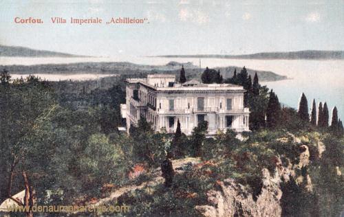 Korfu, Kaiserliche Villa Achilleion