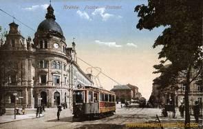 Krakau, Postamt