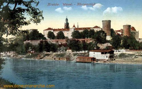 Krakau Wawel - Königsschloss